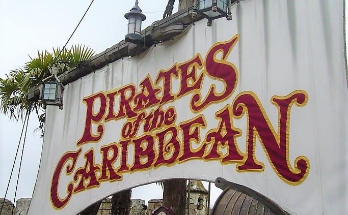 Pirates of the Carribean in Disneyland Paris