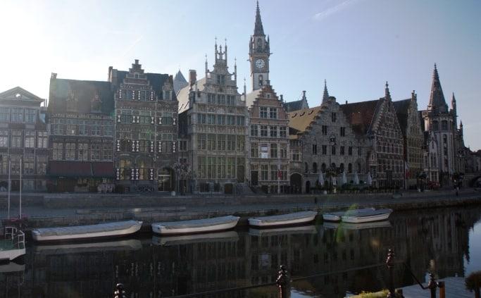 De Graslei in Gent
