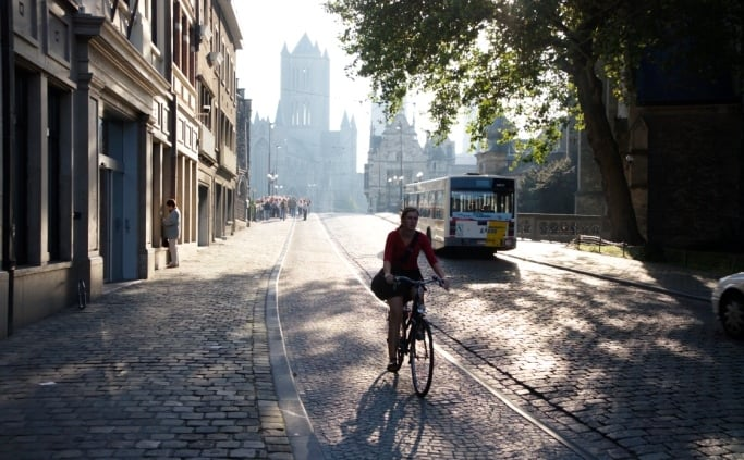 Fitesen in Gent