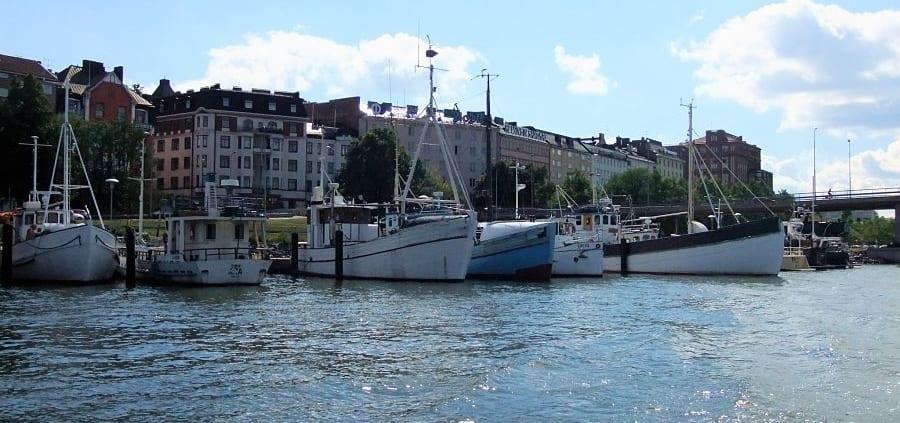 De Zuidhaven van Helsinki