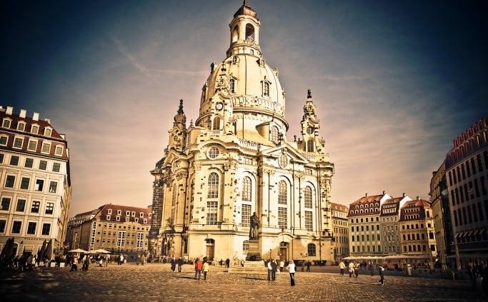 De Frauenkirche in Dresden