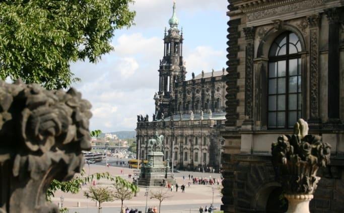 De Altstadt van Dresden