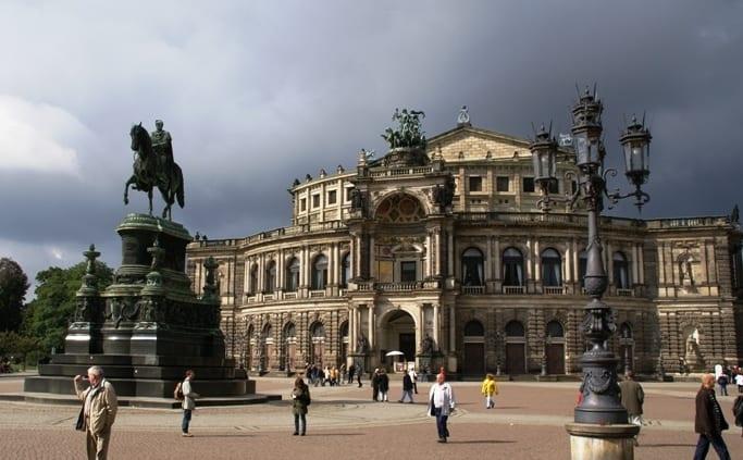 De Semperoper in Dresden