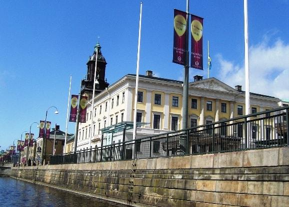 Göteborg vanaf de grachten