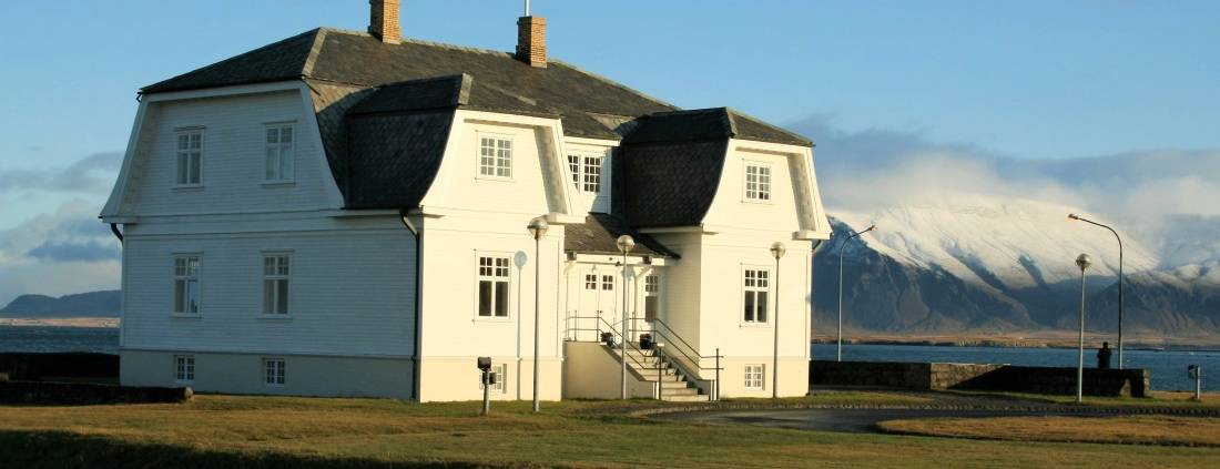 Villa Höfði in Reykjavik, IJsland