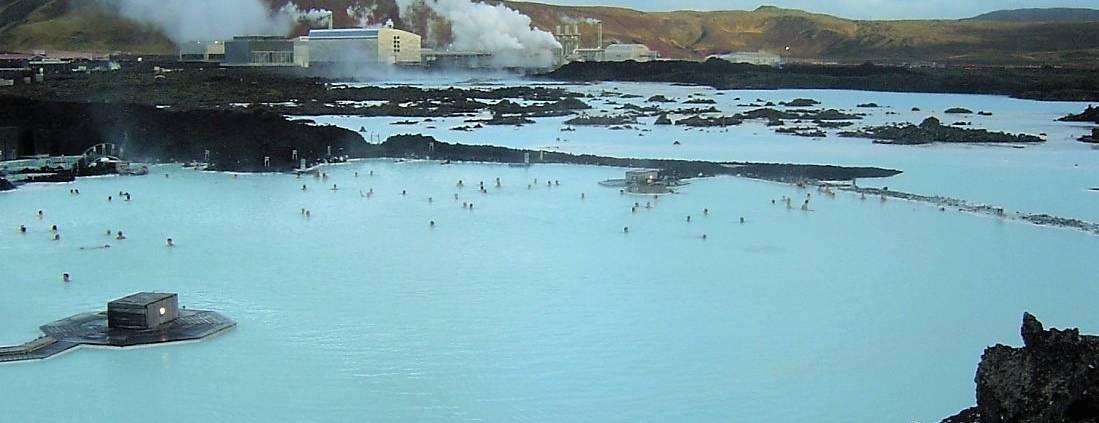 De Blue Lagoon op IJsland