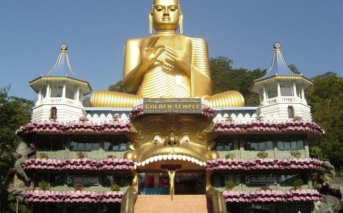 Gouden Tempel in Dambulla