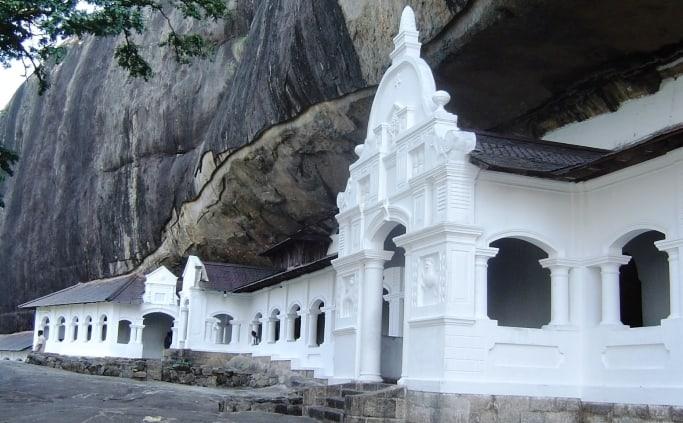 Tempel in Dambulla