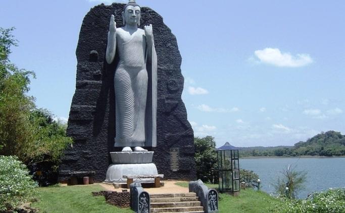 Boeddha in Polonnaruwa