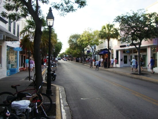 Duval Street op Key West