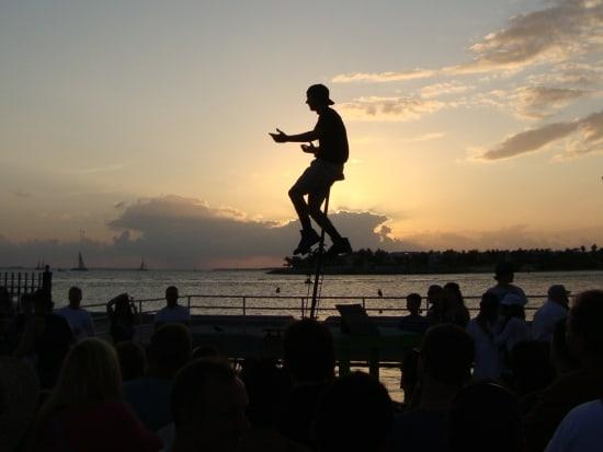 Zonsondergang op Key West